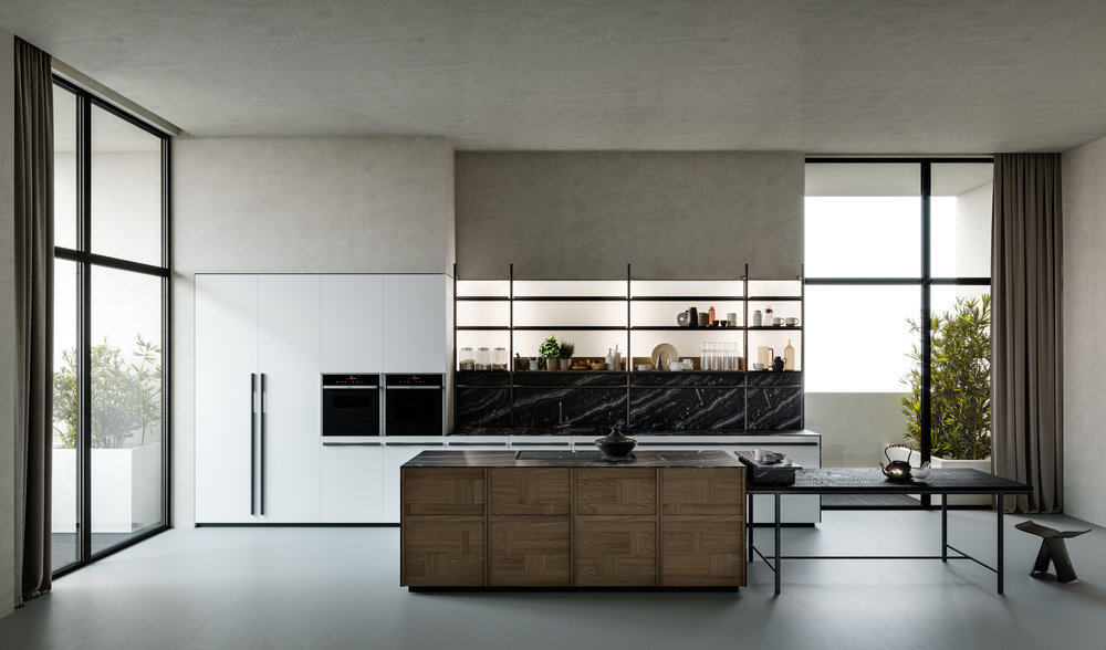 IRORI, Italian kitchen with a Japanese spirit