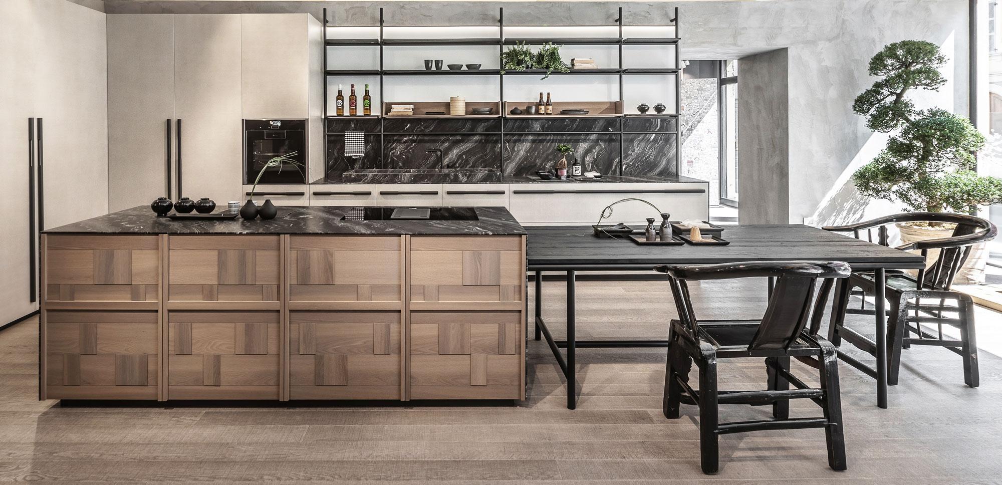 Mobila bucatarii de lux italia design