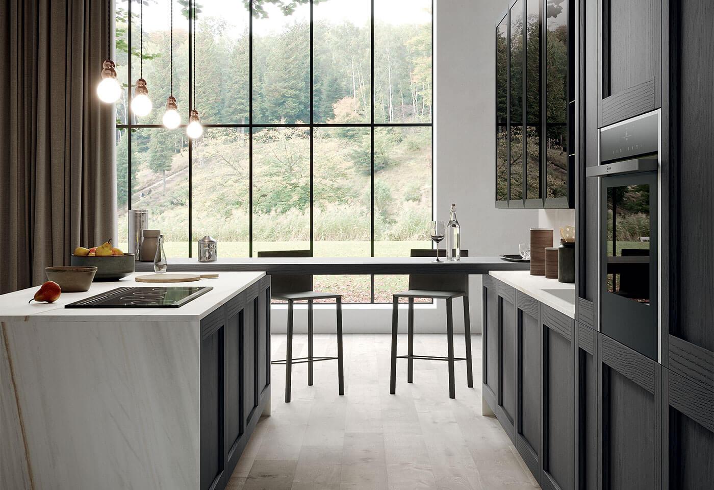 mobilier bucătărie modern clasică