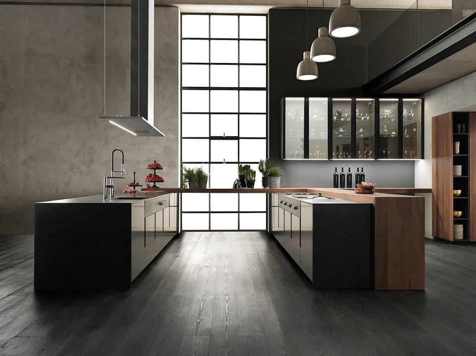 The island kitchen, prima donna of living space