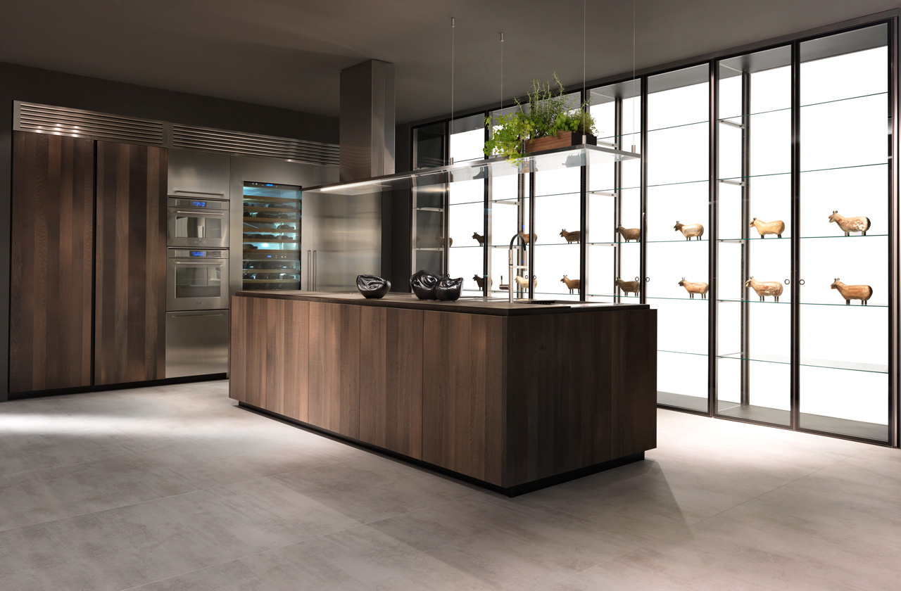 The perfect setting for creativity and conviviality: Island Kitchen