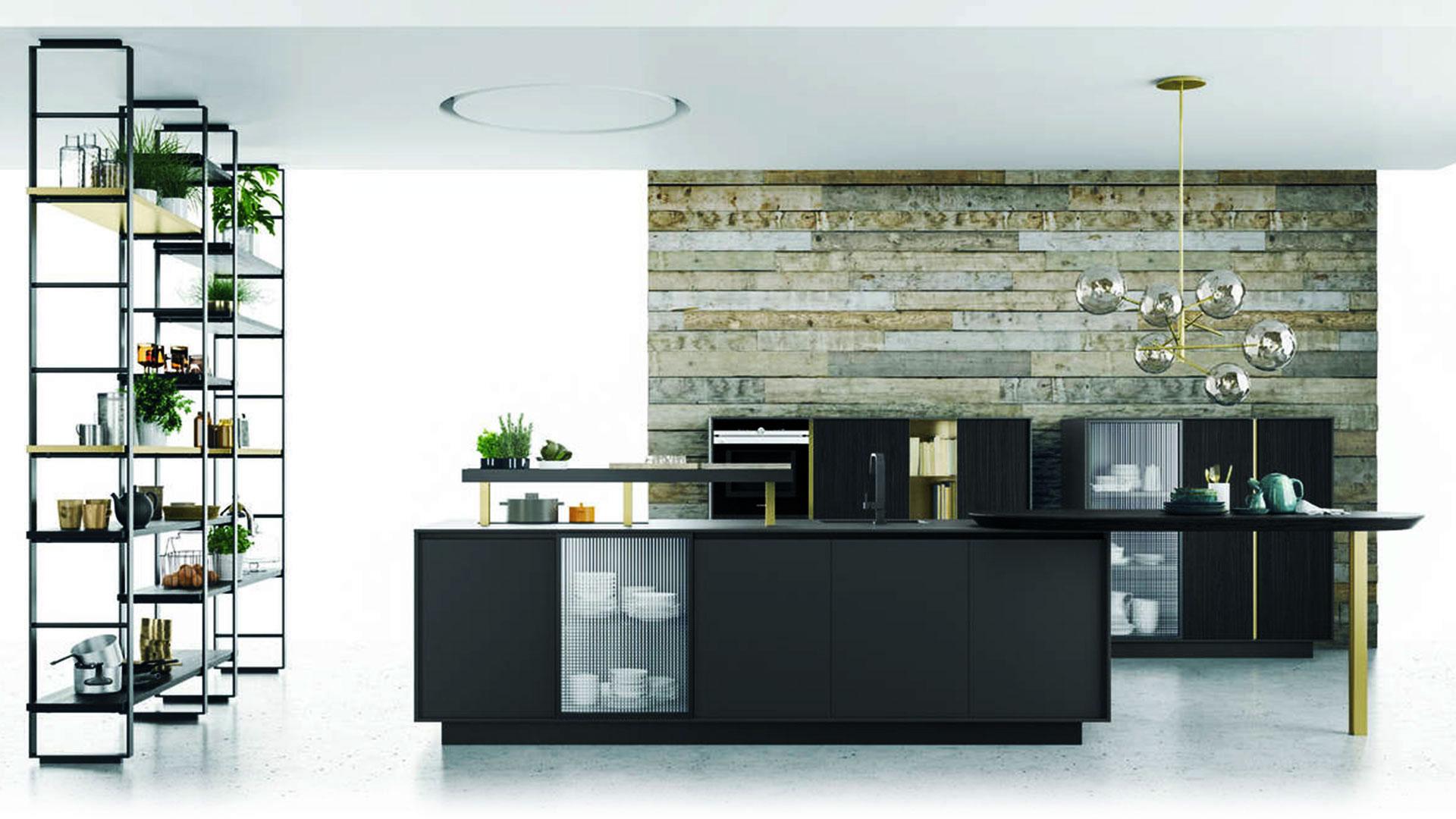 Bucătărie Fenix NTM® Nero, Colecția Soho