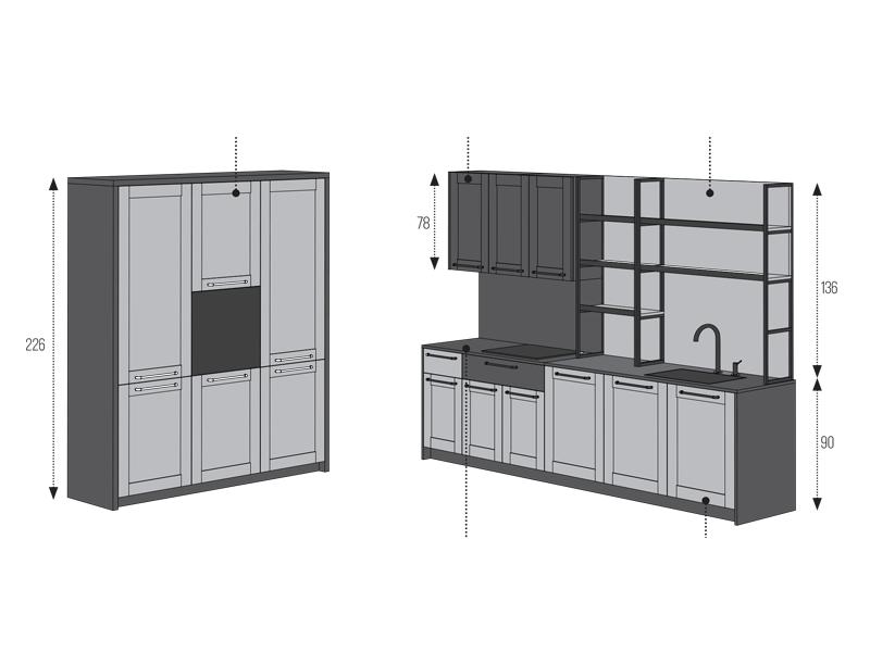mobila de bucatarie moderna