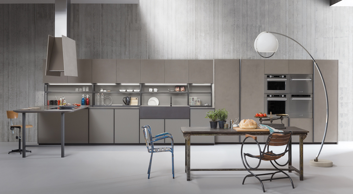Three styles, one kitchen. Small guide of direction and style.