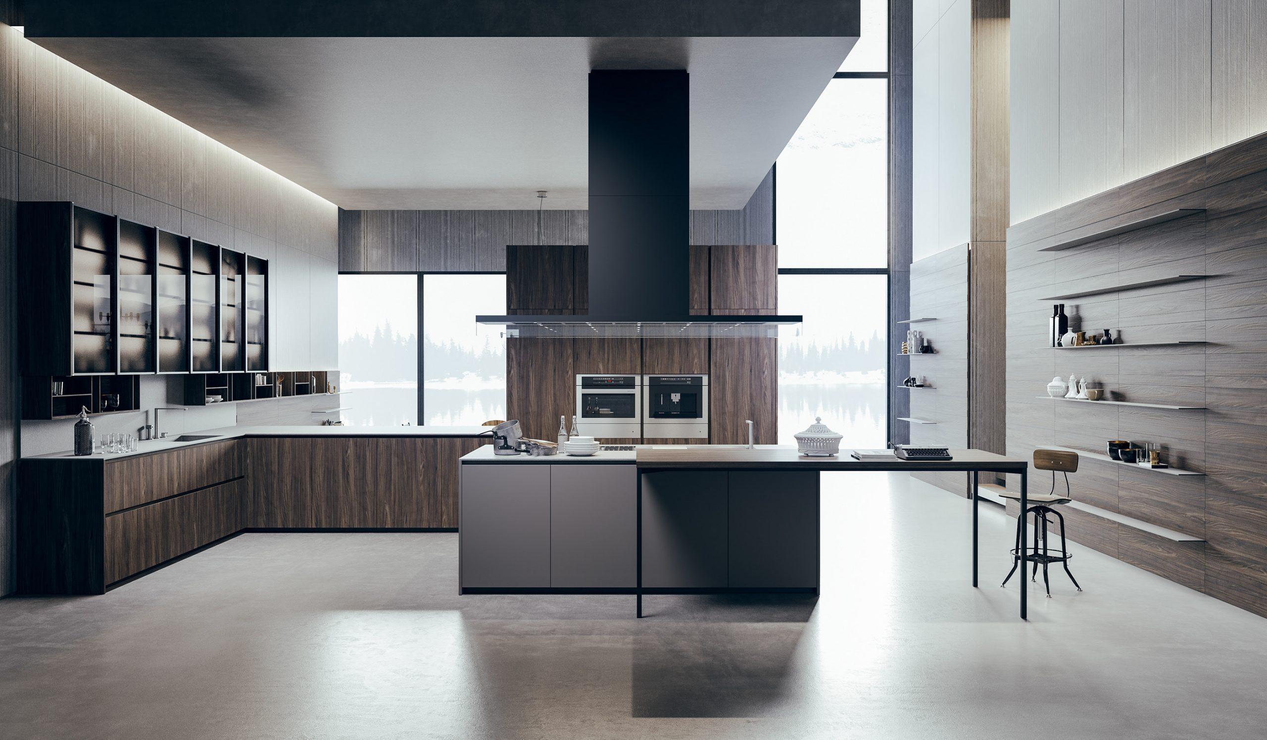 Bucătării moderne: lux și contemporaneitate pentru un design de vis