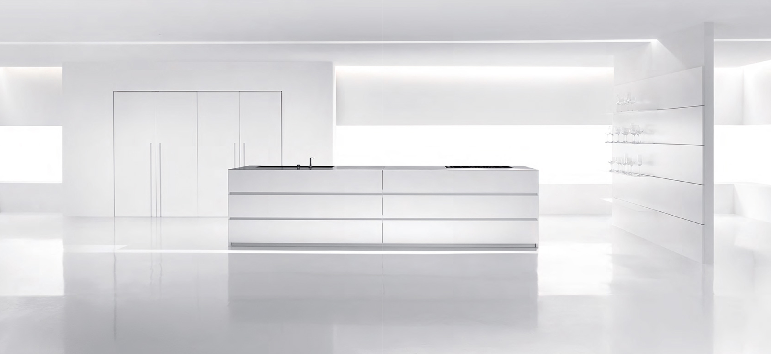 Global cooling. How can we find the warmth of the colours in kitchen furniture design?