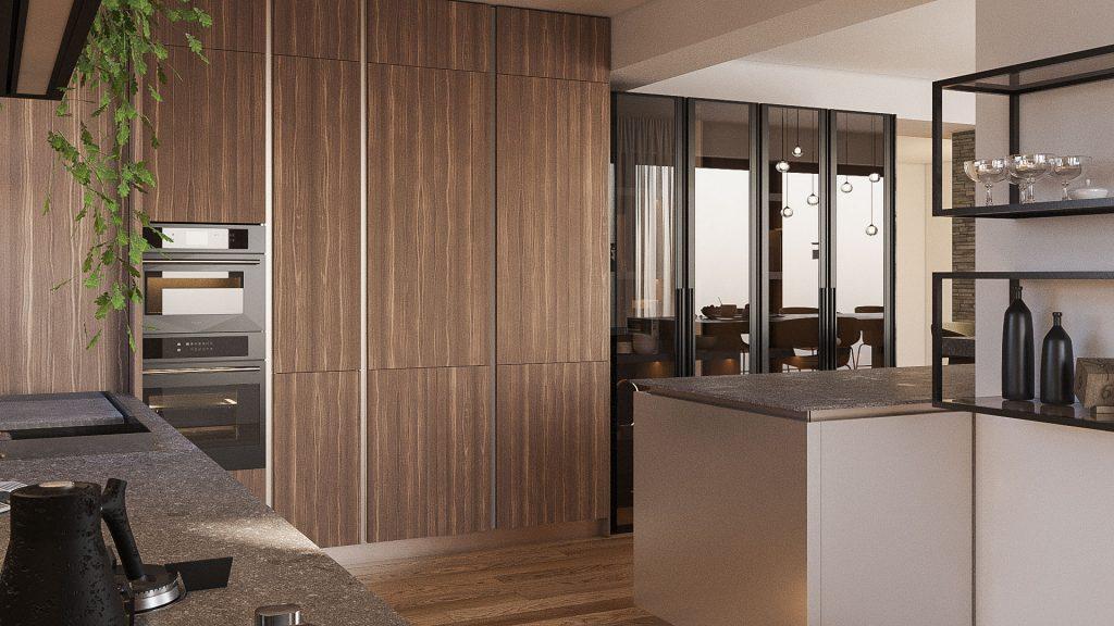 proiect bucătărie lux client București