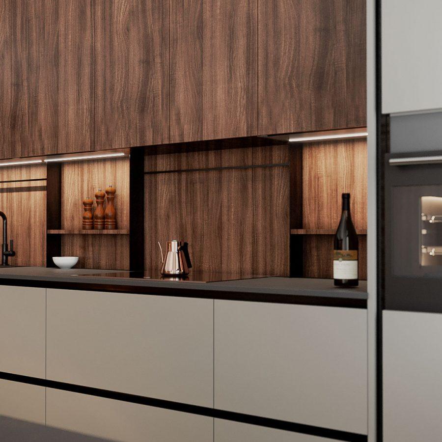 proiect bucătărie client Oradea