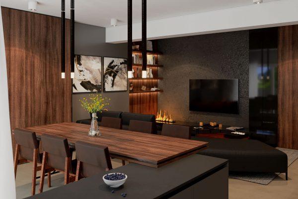 proiect living client Oradea